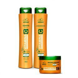 Kit Capilar Vitamina C (3 Itens) - Belkit Profissional