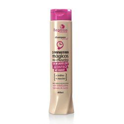 Shampoo 3 Minutos Mágicos no Chuveiro 400ml - Begônia
