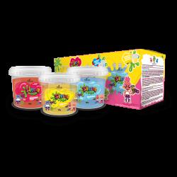 Kit Slime Pop (3 Itens) Natuza