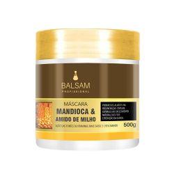 Máscara Mandioca e Amido de Milho 500g - Balsam