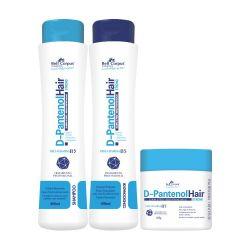 Kit D-Pantenol Hair  (3 Itens) - Bell Corpus