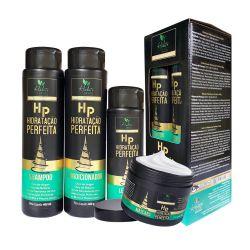 Kit Capilar Hidratação Perfeita (4 Itens) - Hábito Brasil