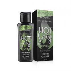 Óleo Corporal Hot Sexy Menta 35mL - Suave Fragrance