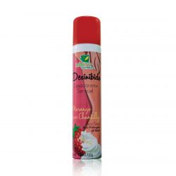 Desinibida Desodorante Sensual Morango com Chantilly - Hábito Cosméticos